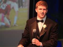 Florida State junior Dustin Hopkins is a finalist for the 2011 Lou Groza Collegiate Place-Kicking Award.