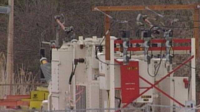 Two substation failures in Vermont caused about 7,000 Green Mountain Power customers to be without electricity Wednesday night.