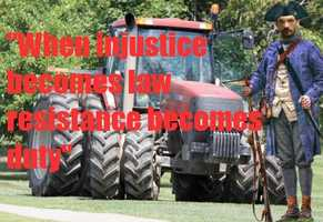 """""""When injustice becomes law, resistance becomes duty."""""""