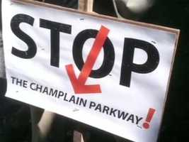 """""""Stop the Champlain Parkway!"""""""