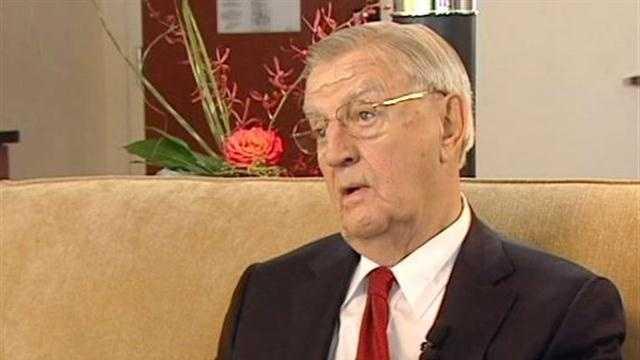 Former VP Mondale: 'It'll be a tough debate'