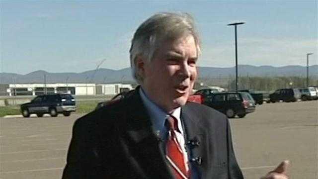Republican U.S. Senate candidate  John MacGovern
