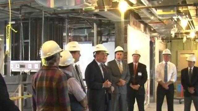 Officials celebrate construction of mental health ICU