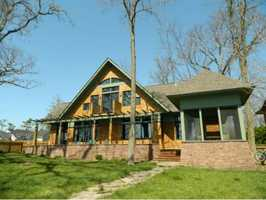 This 2-bedroom, 2-bath single family home on the shores of Lake Champlain $1,150,000. See original listing on REALTOR.com.
