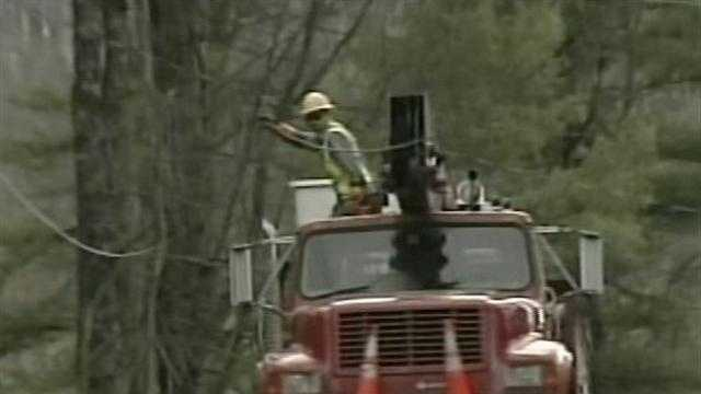 Sharon was one of Vermont's hardest hit communities in terms of power outages from Sandy.