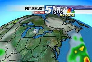 A storm system is expected to bring snow, rain to the region Wednesday and Thursday. Monday 5 p.m.