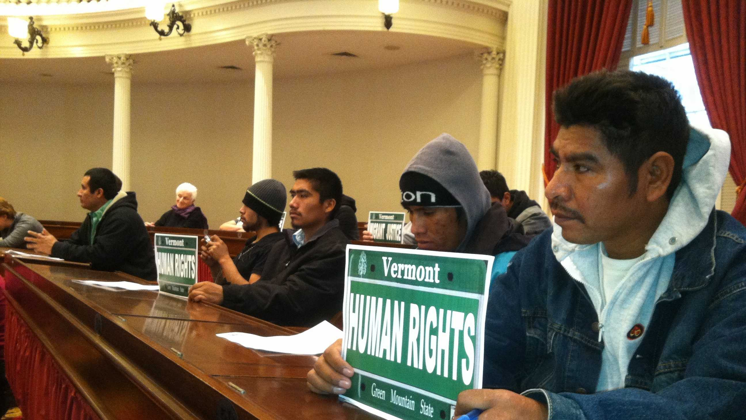 Migrant workers attend Statehouse hearing on issuing drivers license