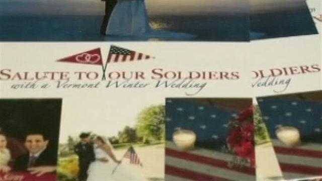 Military couple to win Vermont wedding