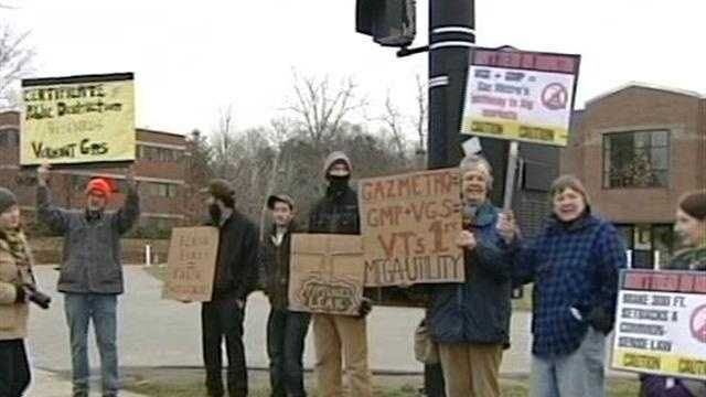 Monkton residents protest Vt. gas line project