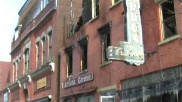 Fire leaves tenants without a home