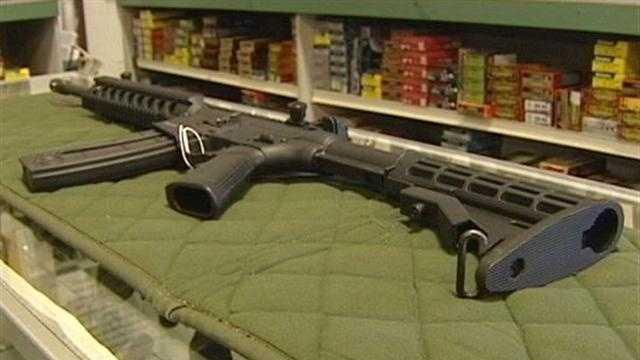 Gun show hosts decline request to ban assault weapons