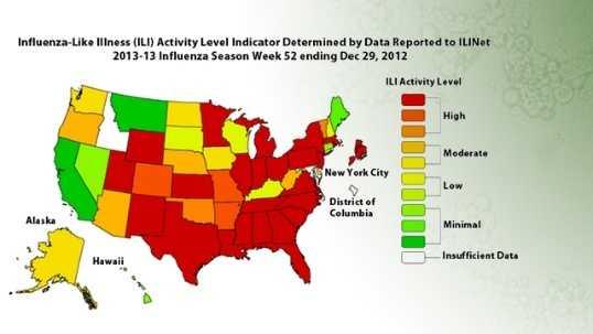 Flu Risk Map