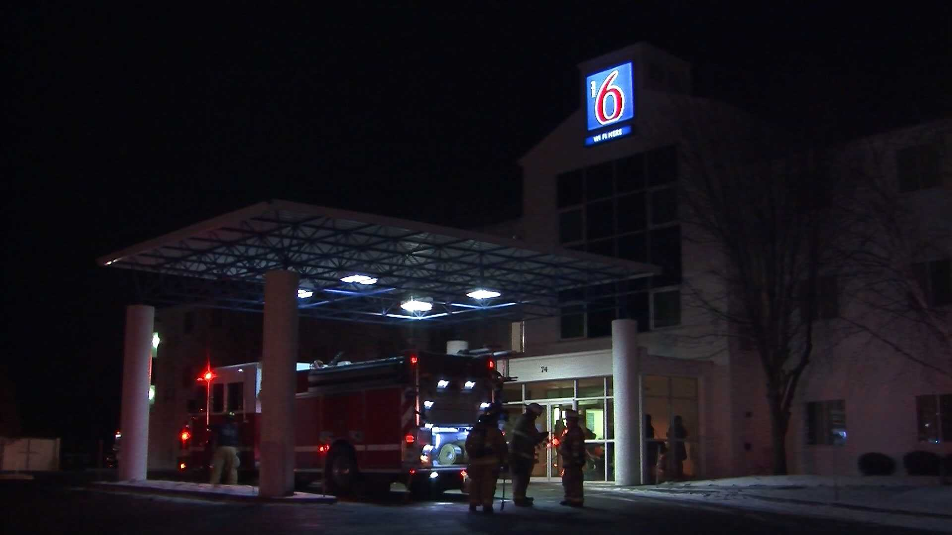 012313 Fire crews respond to Colchester motel - img