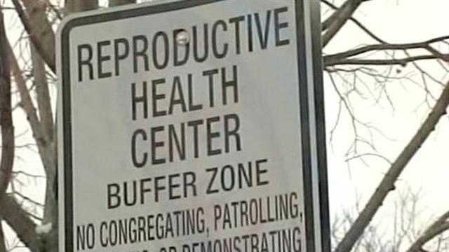 Buffer Zone sign