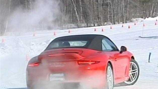 012413 Porsche turns Vt. golf course into test track - img