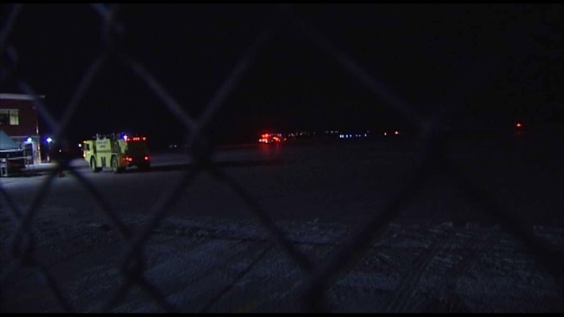 012413 Plane headed to BTV makes emergency landing - img