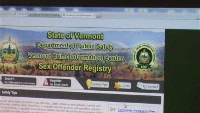 Vt. unveils new sex offender registry and database