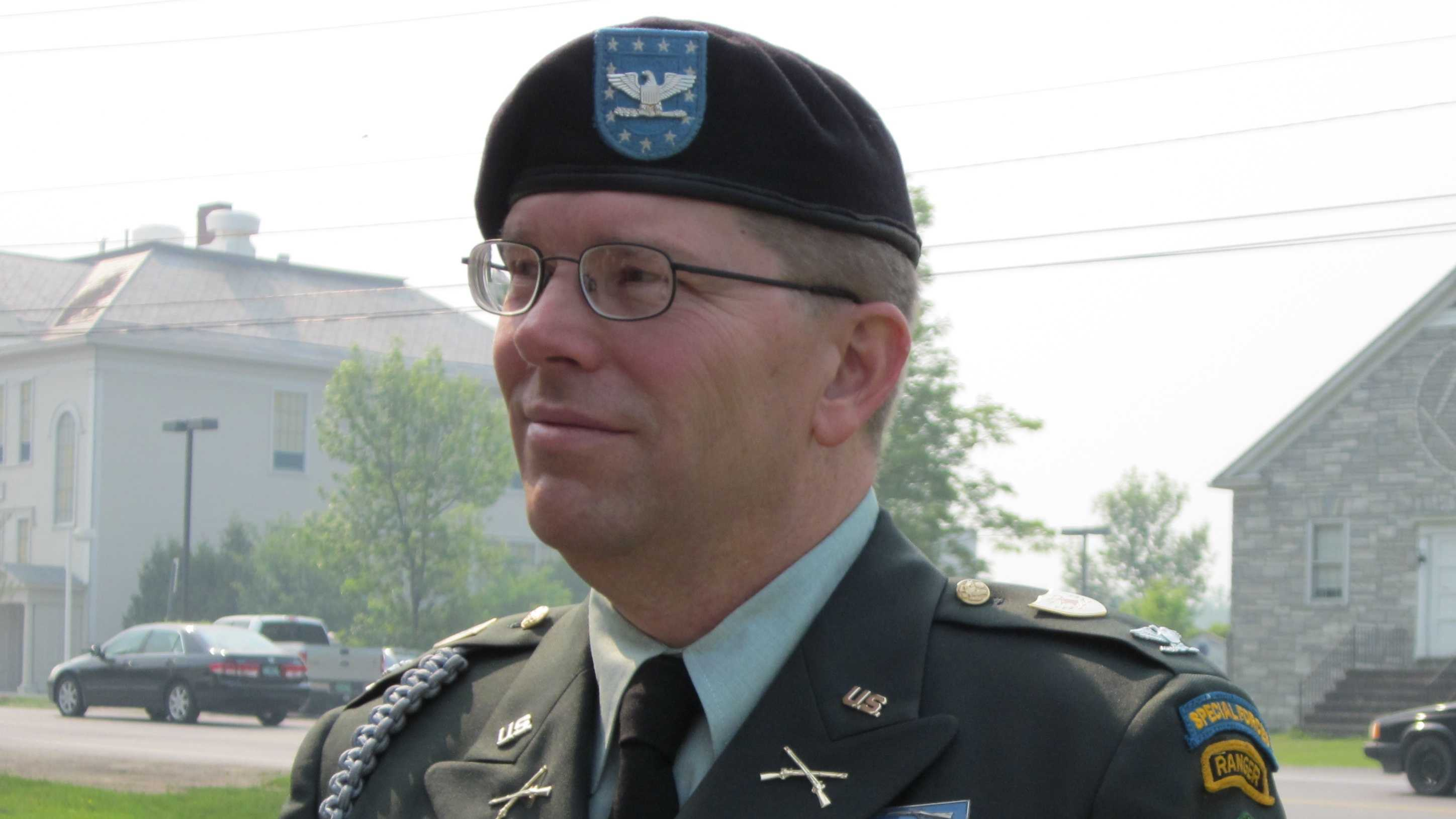 Third candidate for Adjutant General