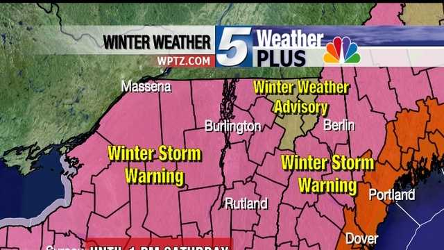 Meteorologist Hayley LaPoint has 10 things you need to know about today's storm.
