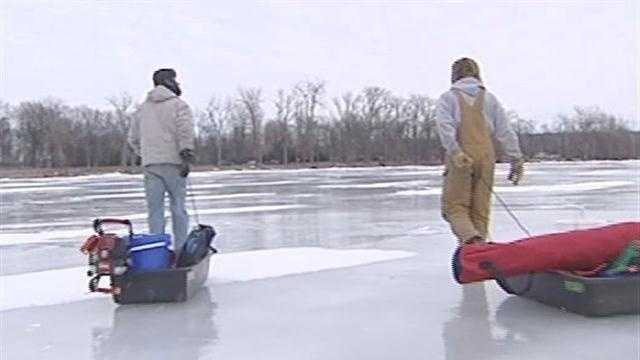 Winter Fishing is On Thin Ice