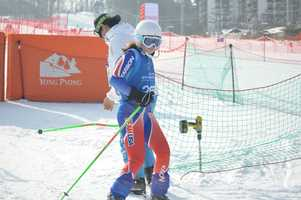 Leah Boardman took the silver medal in alpine skiing at the 2013 Special Olympics World Winter Games held in South Korea.