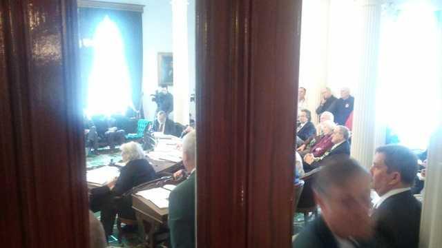Senate debates death bill
