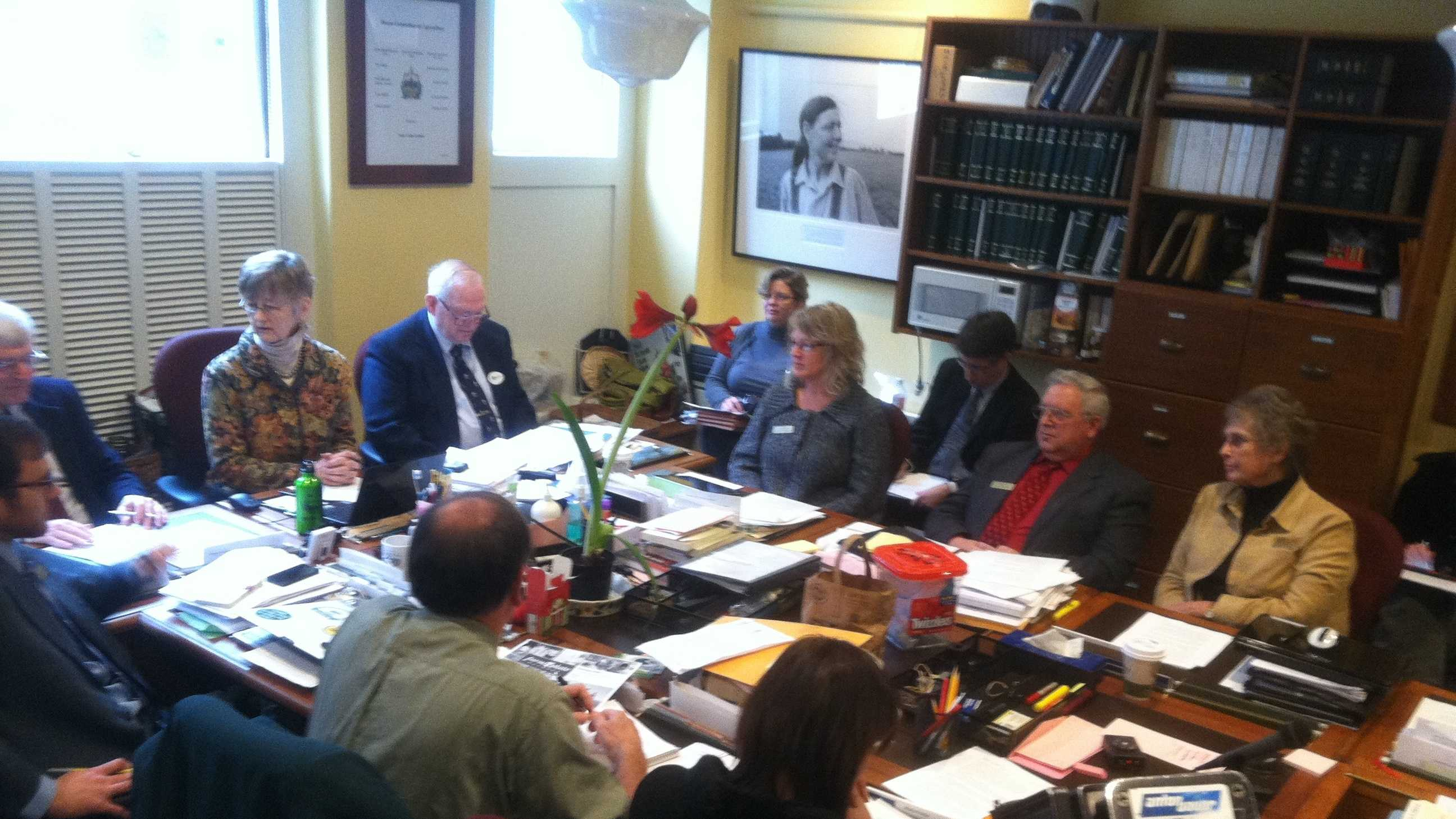 Members of the Vt. House Agriculture Committee