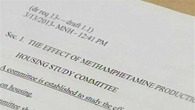 31513 Lawmakers look to create meth housing study committee