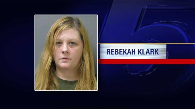 Police arrested 29-year-old Rebekah Klark on Wednesday in Winooski. She is charged  with aiding in the commission of a felony relating to the sale of heroin.