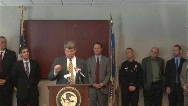 Police say drug dealers are using all avenues to bring big quantities of heroin to Chittenden County. Law enforcement held a news conference to discuss their drug-fighting efforts on Monday.