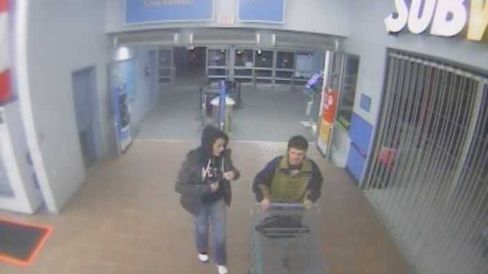 04-24-13 Pair sought in Wal-Mart theft - img