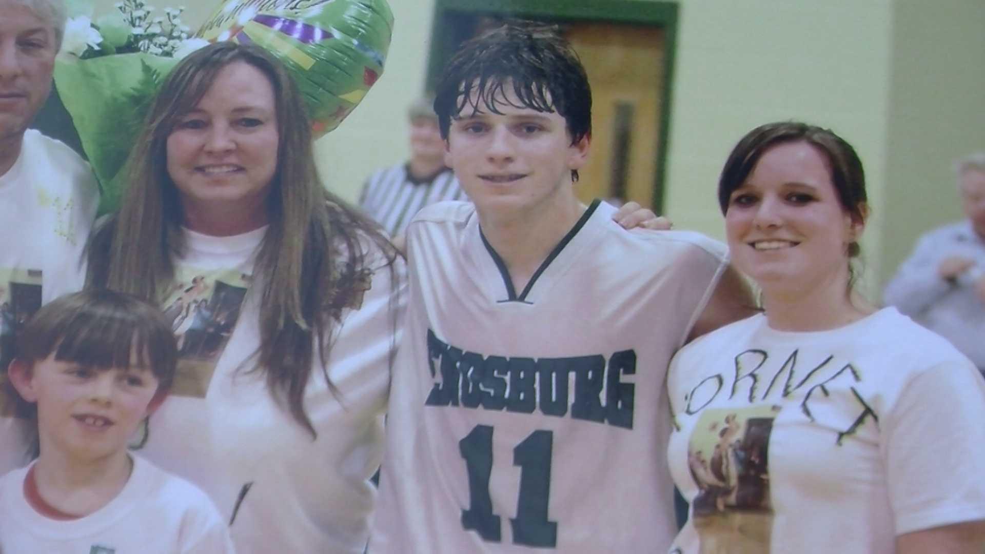 04-29-13 Friends, family remember Brandon Gleason, 17,- img