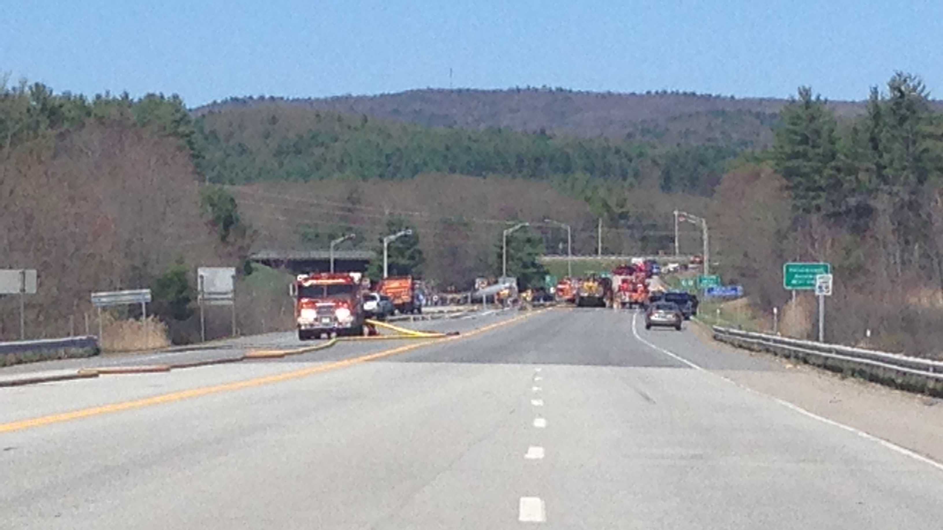 img-Two confirmed dead in Route 12 crash