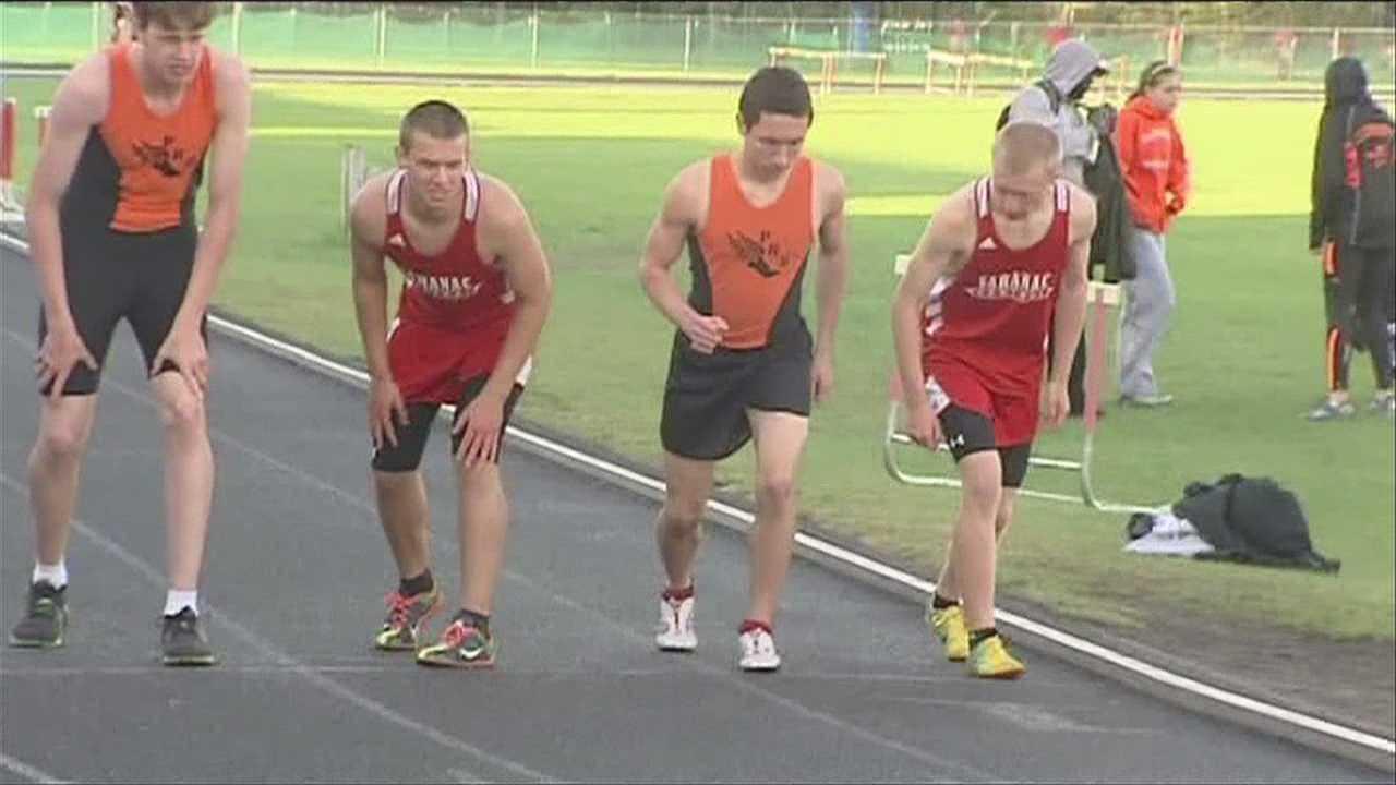 PHS, and Saranac track and field athletes set records.