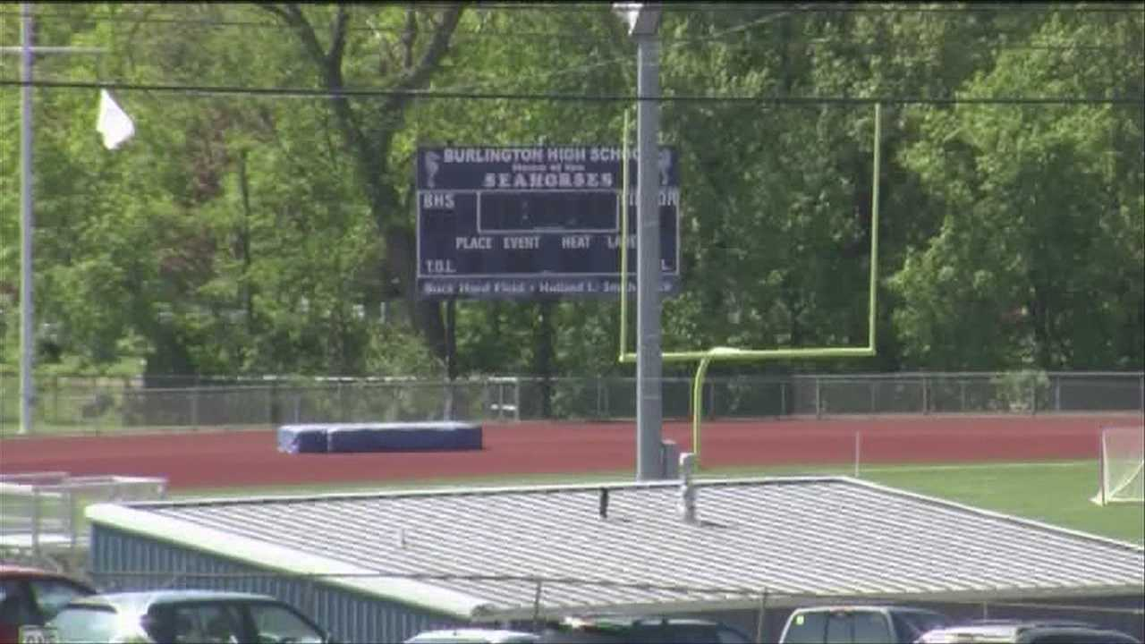 The Burlington school board will debate keeping cuts to athletics and extracurricular programs at their meeting on Tuesday.