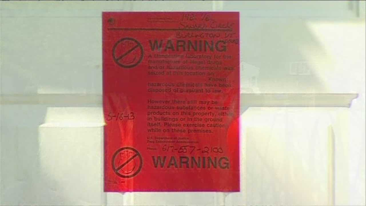 Police: House raided, meth lab found in Burlington