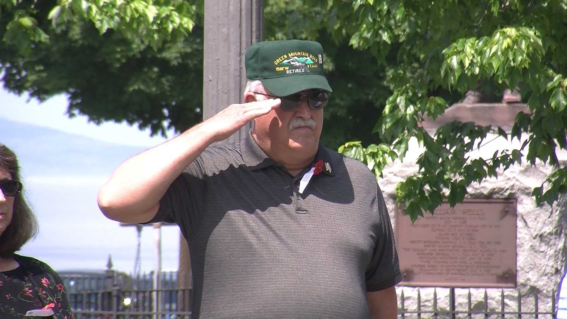 Vets, families celebrate real Memorial Day