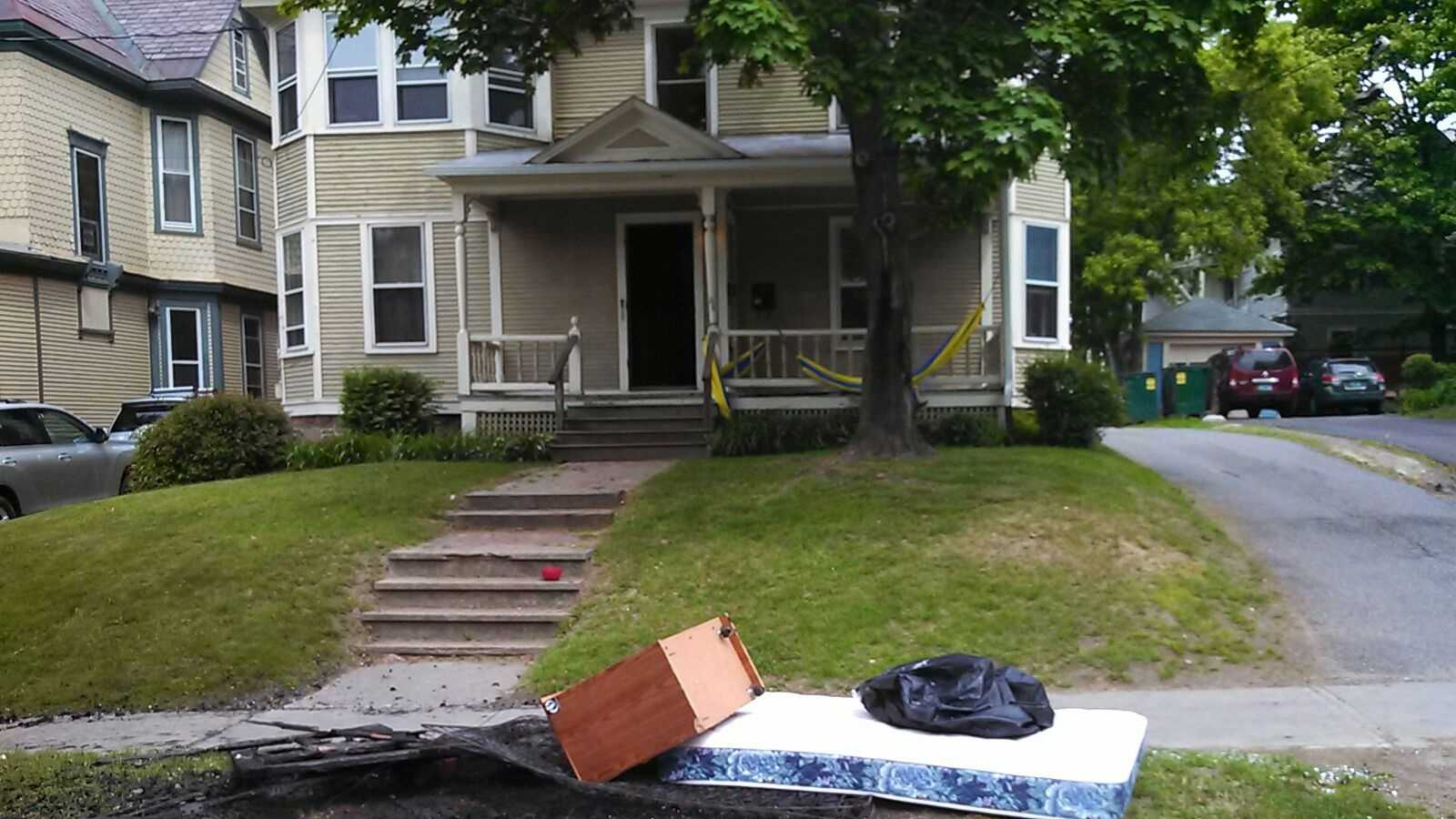 Police investigating couch, mattress fires