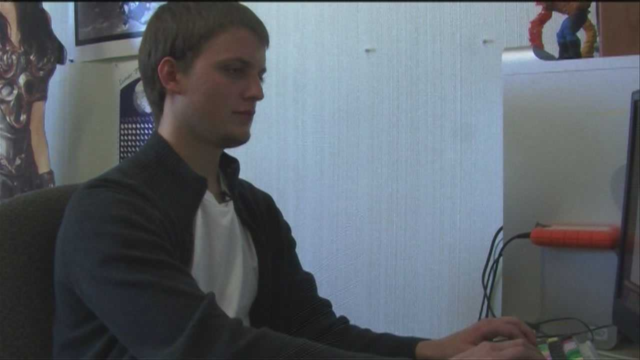A local college student wins big at an international film competition.