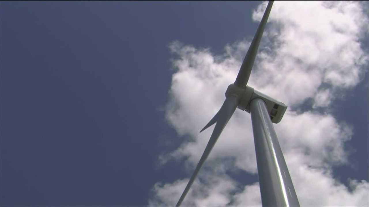 The owners of the Georgia Mountain Community Wind project opened up their doors to the public Sunday.