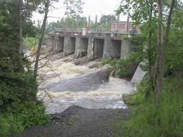 Lower Saranac River dam