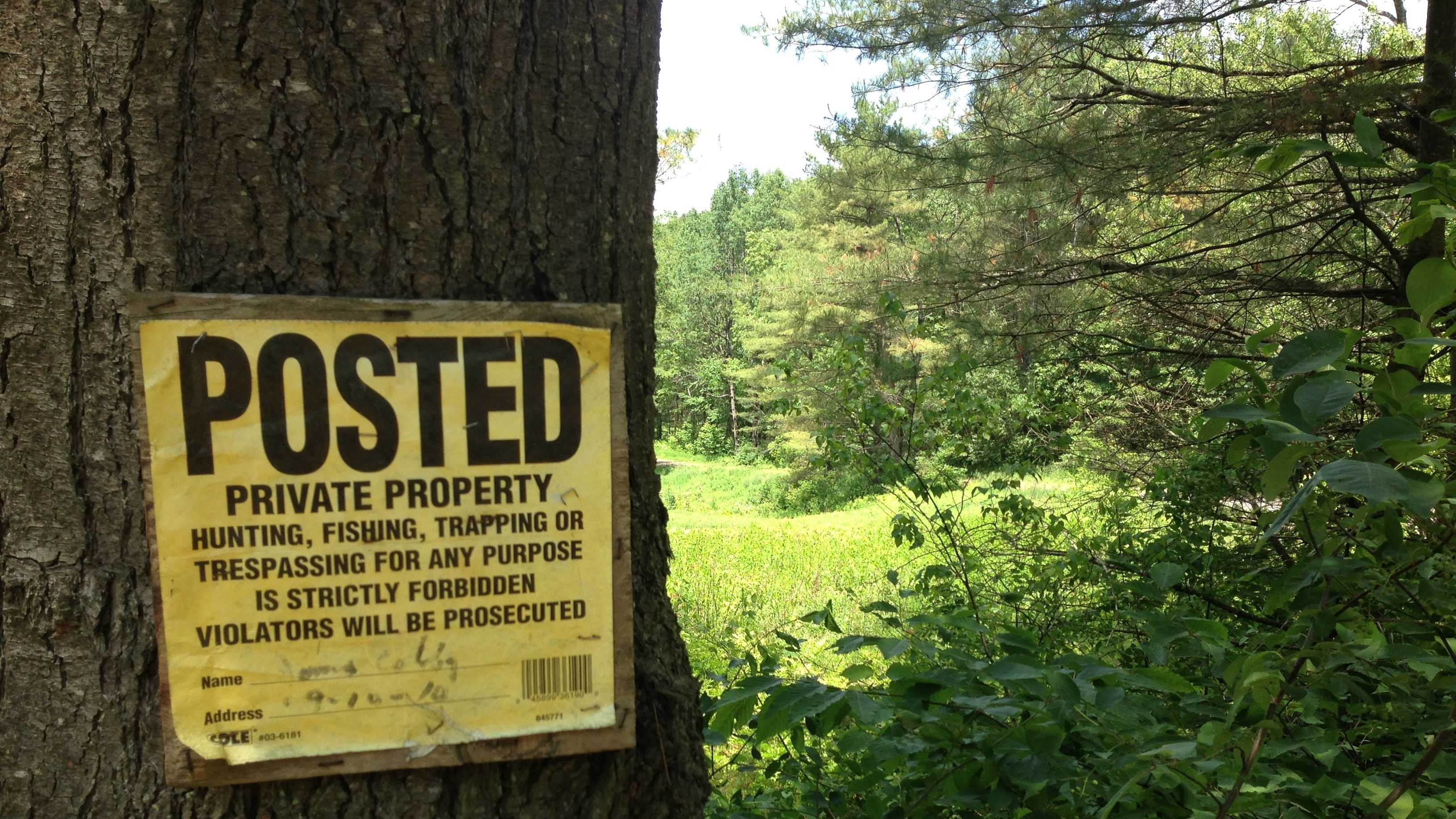 State officials worry about the expanding acreage across Vermont now off limits to recreation.