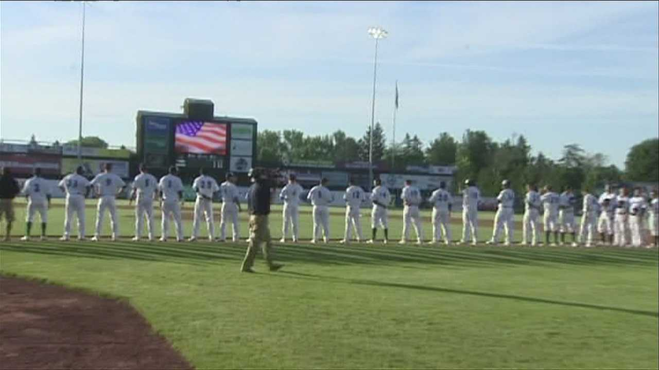 Lake Monsters get their first win of the year, int he Centennial field 2013 debut