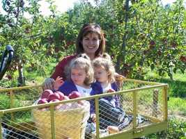 My favorite season is Fall. I love apple picking and making apple crisp.