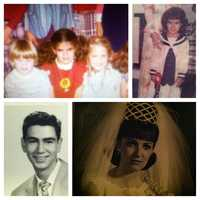 """I grew up in a Boston suburb, but don't have much of a Boston accent because my mother was from Montreal and she taught me how to pronounce my """"r""""s. Much of my family still lives in Montreal, and it's great to be able to visit them. These are pictures of me as a little girl and of my loving parents."""