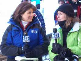 And Meredith Viera. It was a thrill to anchor with Meredith when the Today Show traveled to Sugarbush.