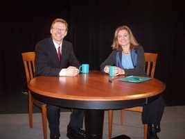 21. Tom was honored to be a guest on Fran Stoddard's show PROFILE, a popular Vermont Public TV show for years.