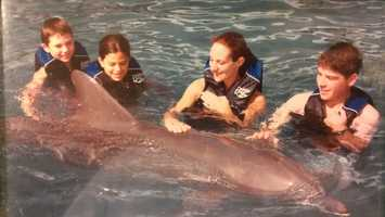 As much as we all wanted, we could not take the dolphin home.