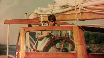David loves sailing all kinds of boats, from small single-handed dinghies, up to the the 92-foot schooner he crewed aboard during high school.