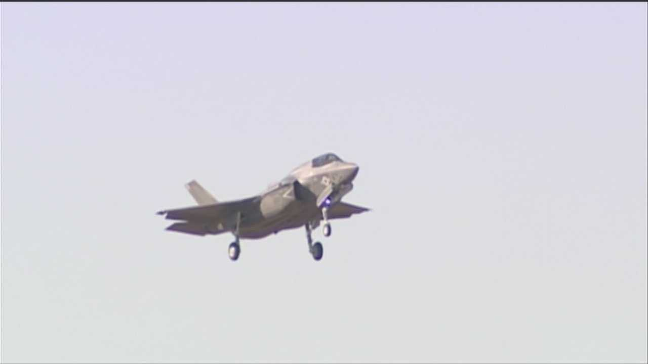 Members of the Vermont Air National Guard held a forum for reporters Thursday. One question that came up, why is Burlington the top basing choice when it's not a preferred location environmentally?